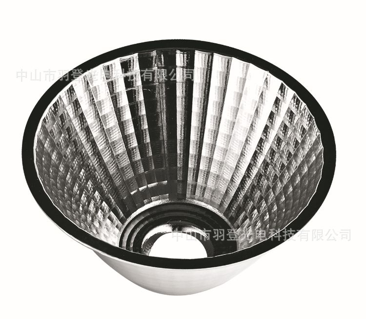 厂家直供92反光杯15度COB反光杯