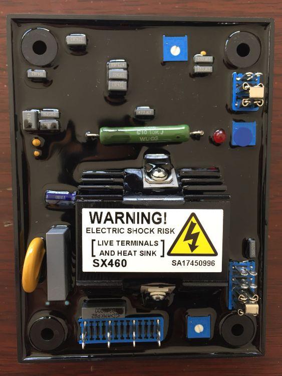 厂家直销无刷发电机电压调压板