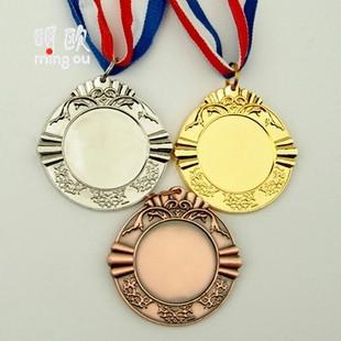 创意订制金属奖牌 学校运动会活动奖牌 个性化订制logo小礼品