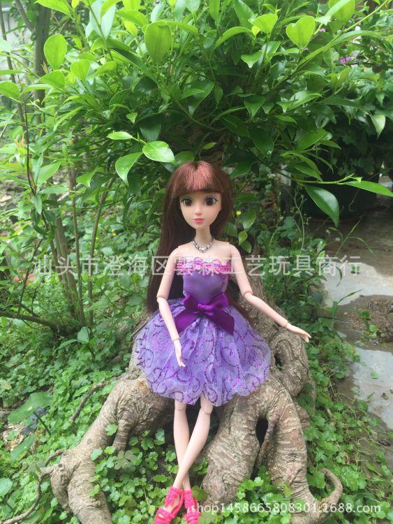 厂家直销换装娃娃衣服新款女孩换装裙子连衣裙装半身裙时尚套装