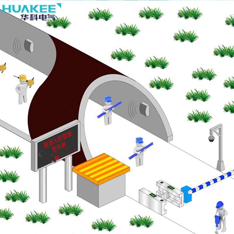 隧道精确人员定位系统 厂家定制HJ725隧道矿山人员定位管理系统