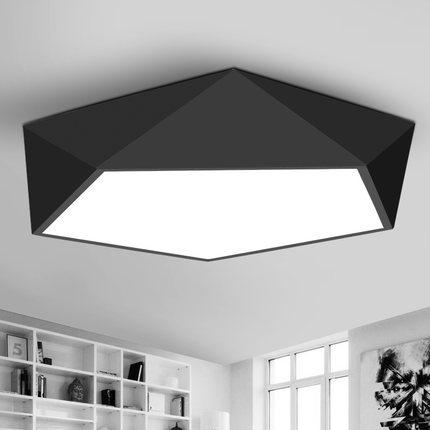 现代简约创意调光调色LED吸顶灯北欧卧室智能家居灯具