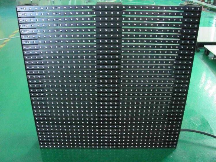 上海乐显厂家透光屏 透明显示屏定制 透光透明大屏 高清LED窗帘屏