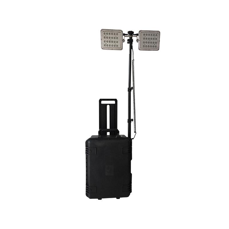HL-30箱式移动照明灯LED便携拉杆式移动升降应急工作灯