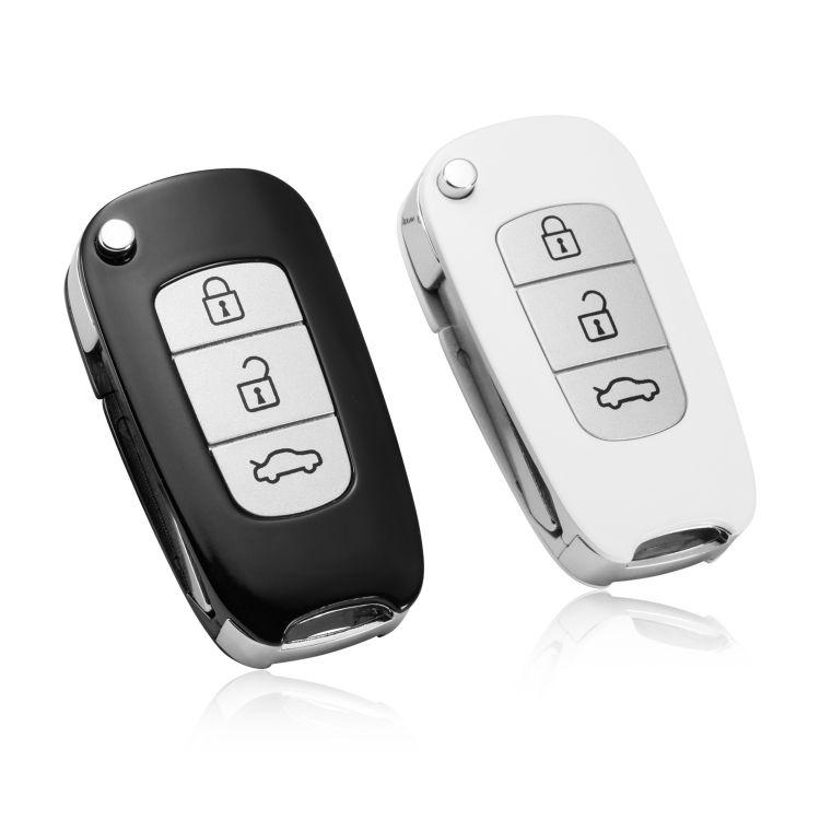 外贸新款A12遥控器金属钥匙扣