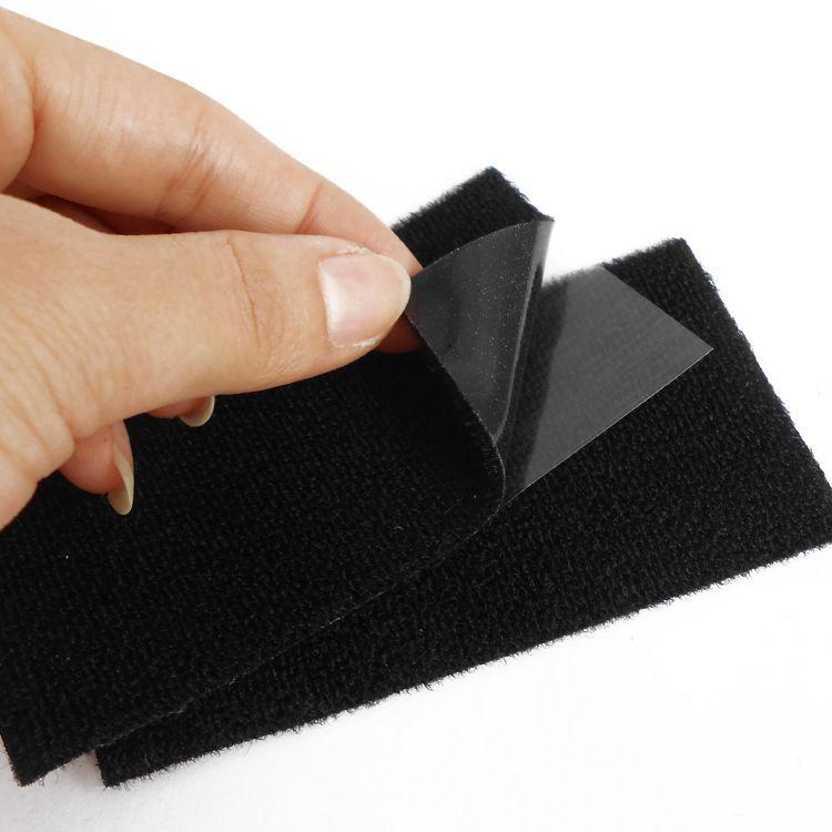 深圳厂家生产强力背胶魔术贴背胶粘扣布粘扣强雌雄搭扣