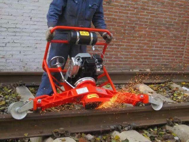 内燃钢轨仿形打磨机FMG铁路钢轨打磨机轨道专用精磨机西班牙进口