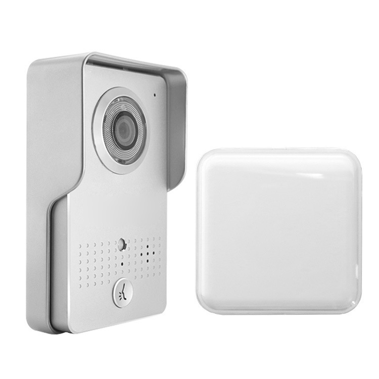 厂家直销高清智能电子门铃wifi高清手机监控开锁智能可视门铃