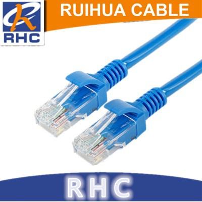 厂家直销 电脑网络线跳线成品网线cat5e超五类网线宽带线