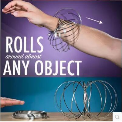 流体手环不锈钢3D魔术手环近景道具铁圈新奇特抗压减压玩具小礼物