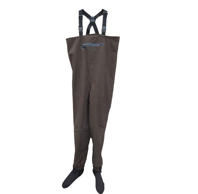 无缝超音波防水透气下水裤全防水涉水钓鱼服新工艺术高品质B43