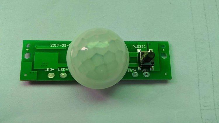 太阳能长三角壁灯控制器 光控+人体感应
