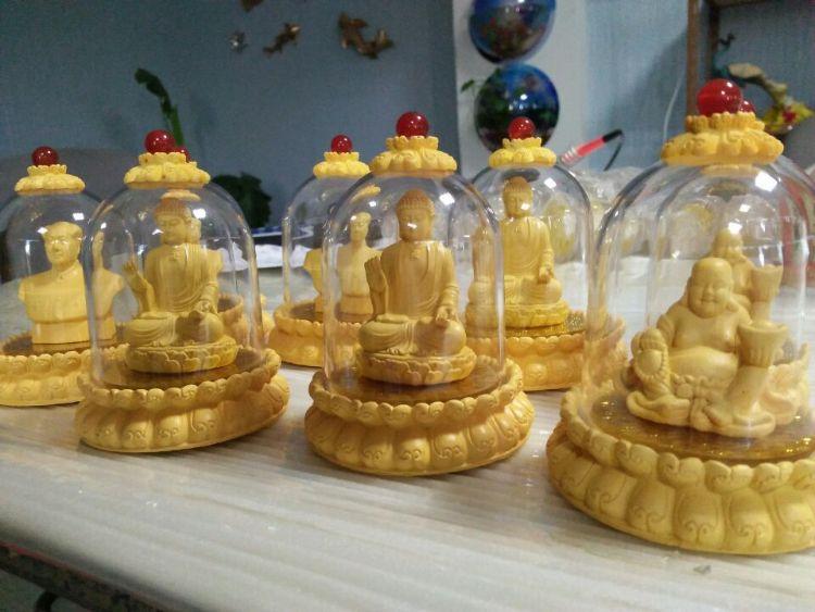 专业定制开发生产绒沙金汽车摆件地藏王释迦毛主席弥勒观音