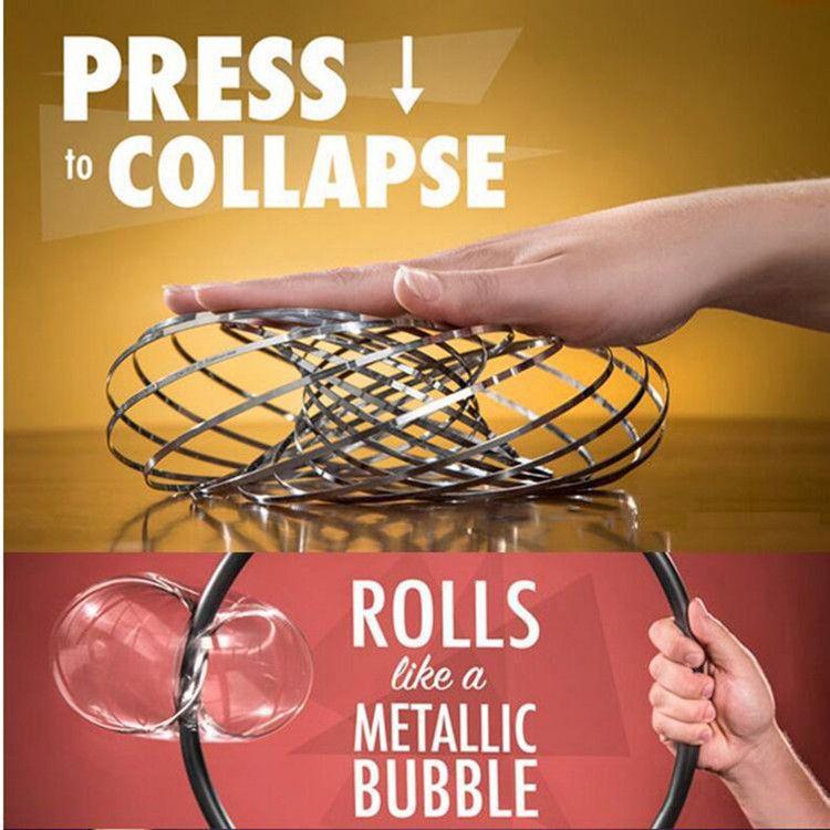 创意流体手环减压魔术手环神奇魔术道具花样变形铁圈锻炼玩具
