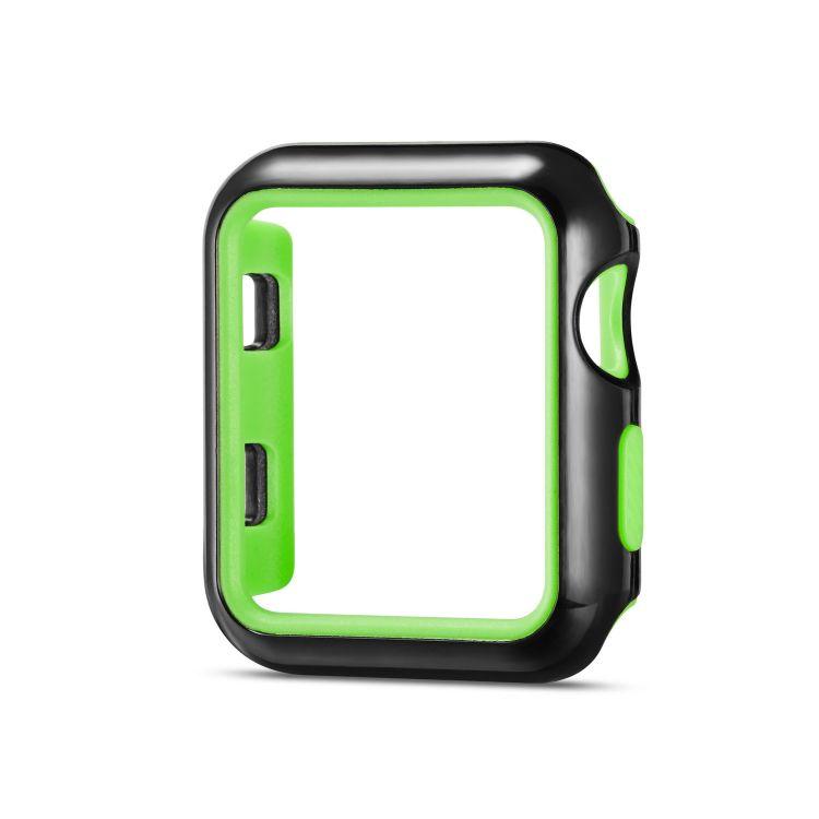 适用于苹果手表双色耐克手表壳适用于Applewatch123代保护套防摔
