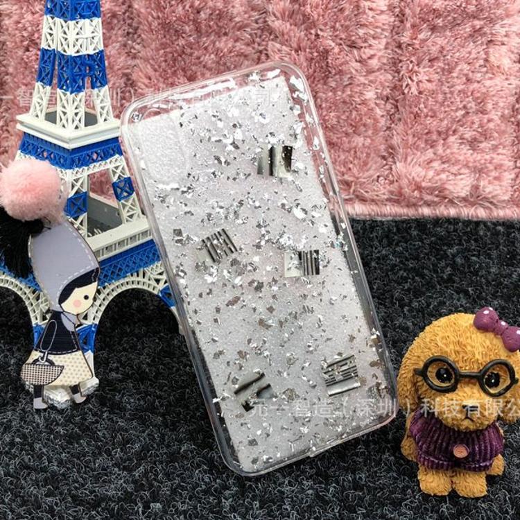 iPhoneX滴胶真花防摔手机壳苹果7/8plus超薄创意软壳6s花朵保护套