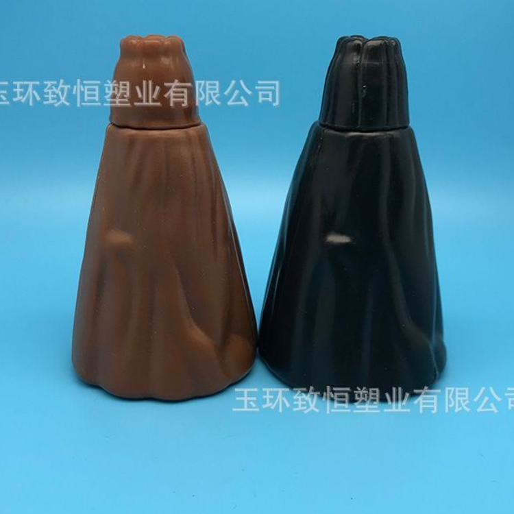 PE火山瓶 沙画玩具瓶 火山型工艺品 110 ml