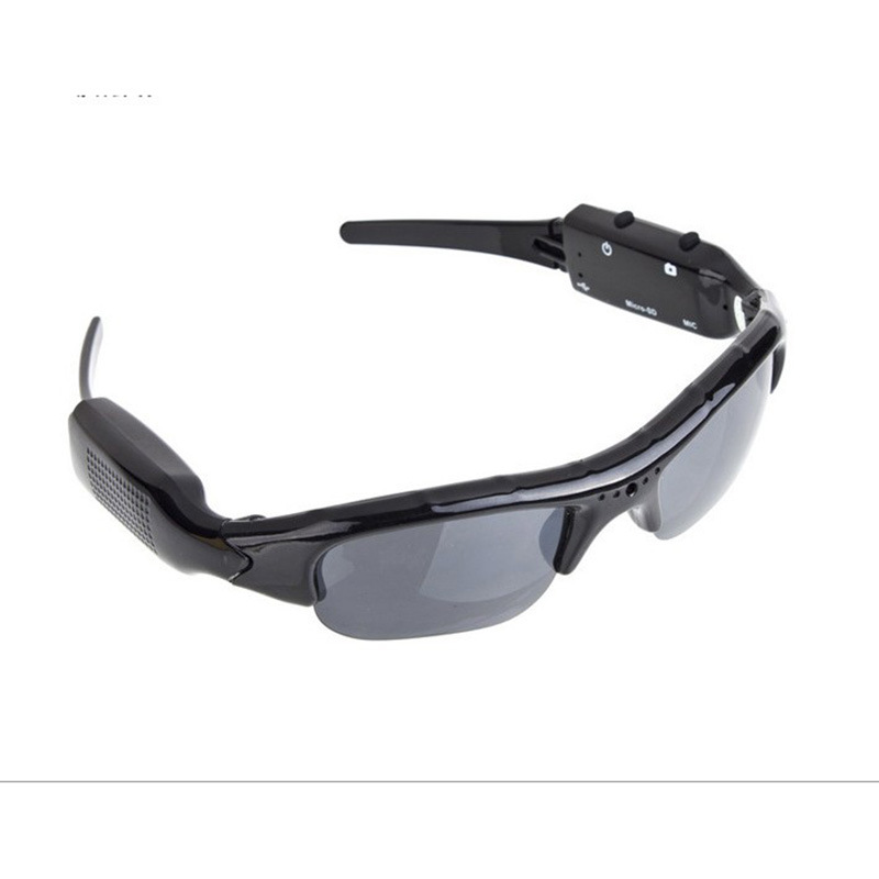 Amazon外贸爆款摄像眼镜厂家 户外骑行登山摄像多功能数码太阳镜