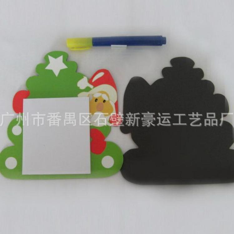 工厂生产圣诞节磁性便签本磁性N次贴便利贴留言帖免费寄样