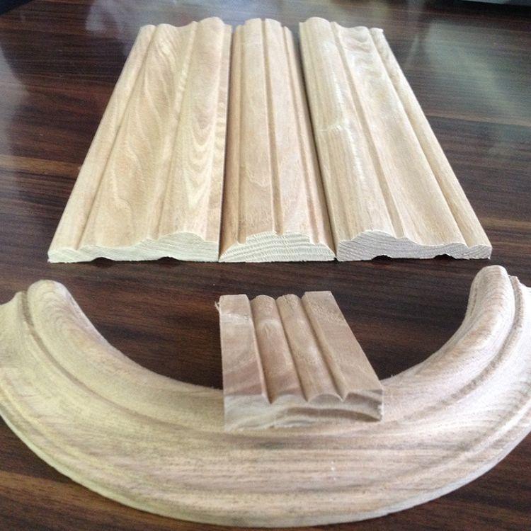 天然水曲柳木 木线条 室内装饰优质木线条  厂家直销 可定制
