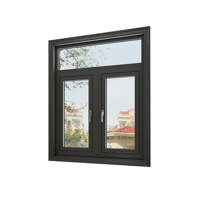 益阳厂家直销 90断桥平开窗 铝合金门窗 断桥铝门窗可定制