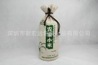 生产供应 时尚好用红酒袋 便携式手提帆布酒袋 质优价廉