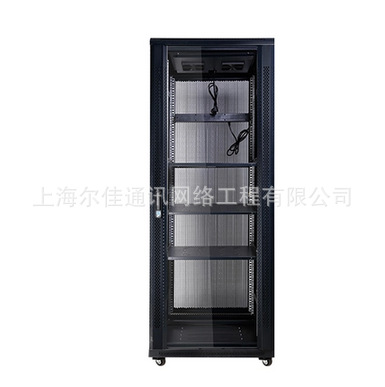 京峰机柜 豪华42U机柜2米图腾服务器机柜 -19英寸机柜