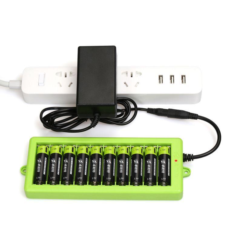 卓耐特5号电池1.5V 5号AA锂电池充电器(充电器价格)