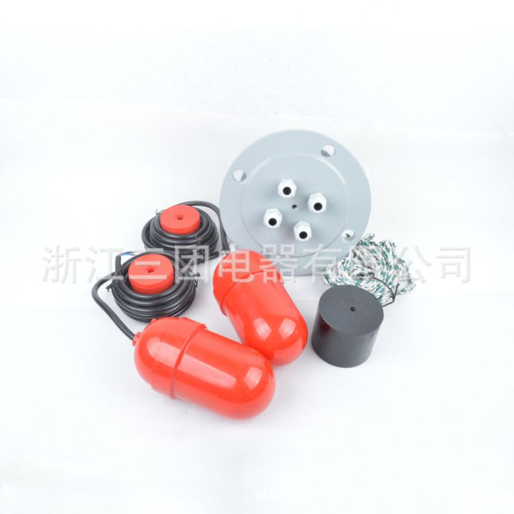 UQK-612 电缆浮球液位控制器悬挂式多点式浮球液位开关 水位开关