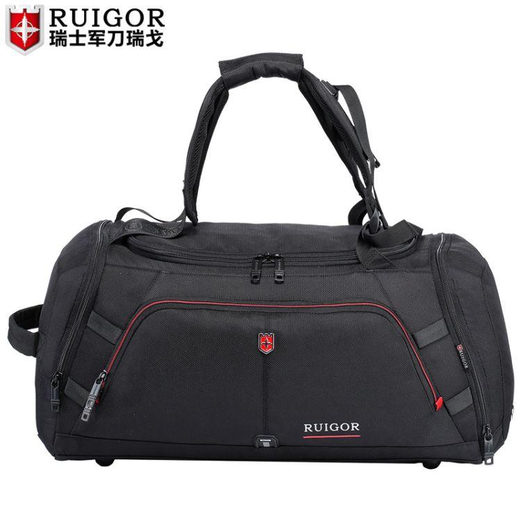 瑞戈休闲潮手提旅行包健身包差单肩 一件代发
