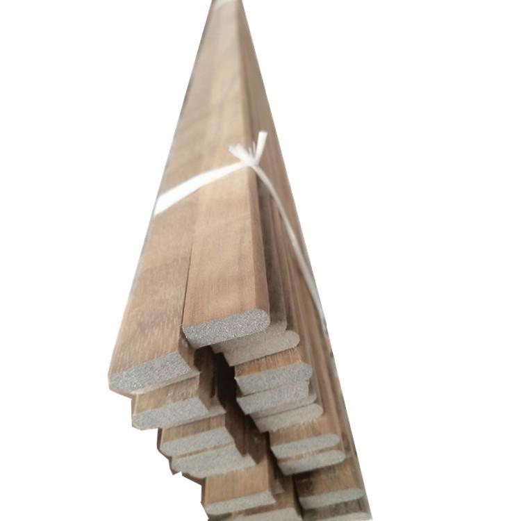 厂家直销 纯实木踢脚线 简欧平板直角装饰线条 阴角线 半圆线定制