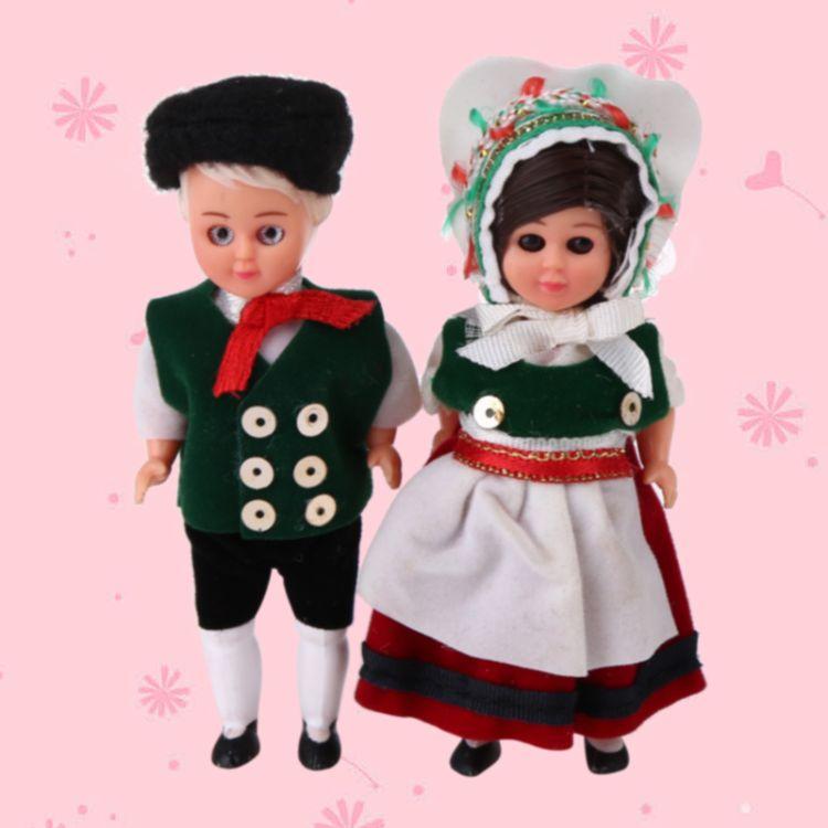 厂家生产国际娃娃sd人偶异国民族风公仔塑料糖胶礼品来图来样定制