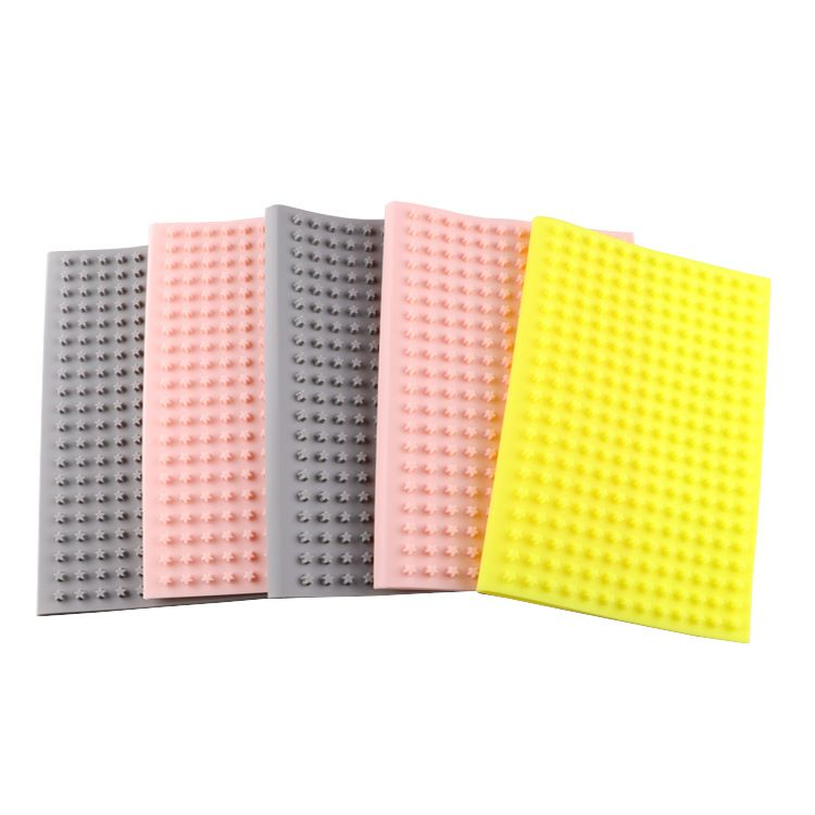 小五角星硅胶笔记本套 硅胶礼品 星星形状硅胶书套 硅胶文具批发