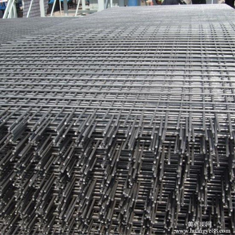开源网片厂经销48mm粗钢筋网片 镀锌建筑网片 经济实用黑丝网片
