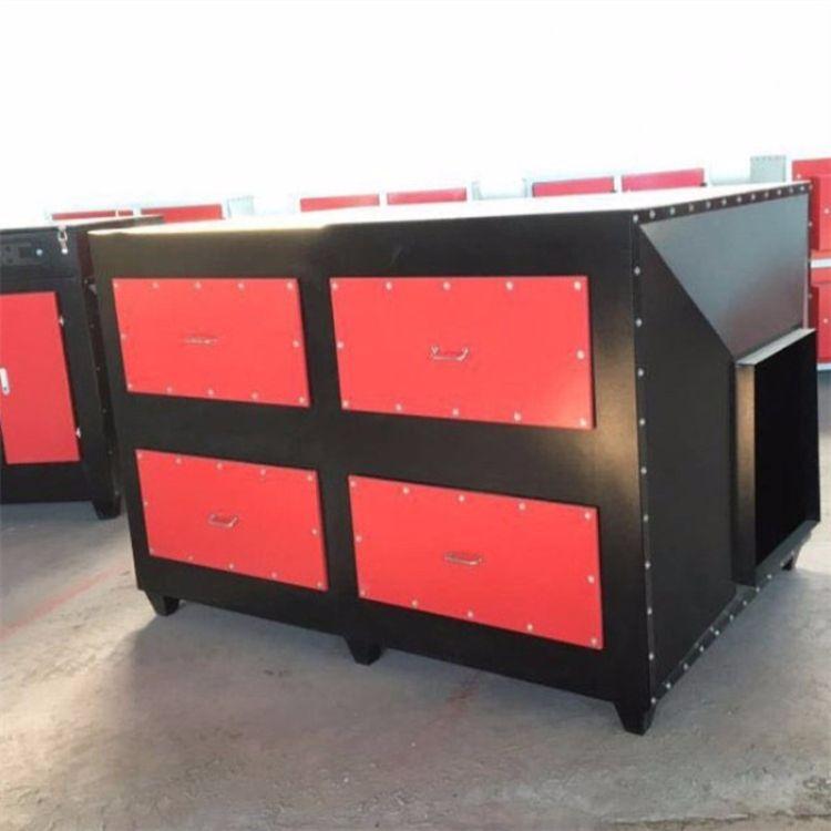河北晟驰直销车间废气处理器-活性炭净化器- 吸附箱装置 -有机废气处理设备