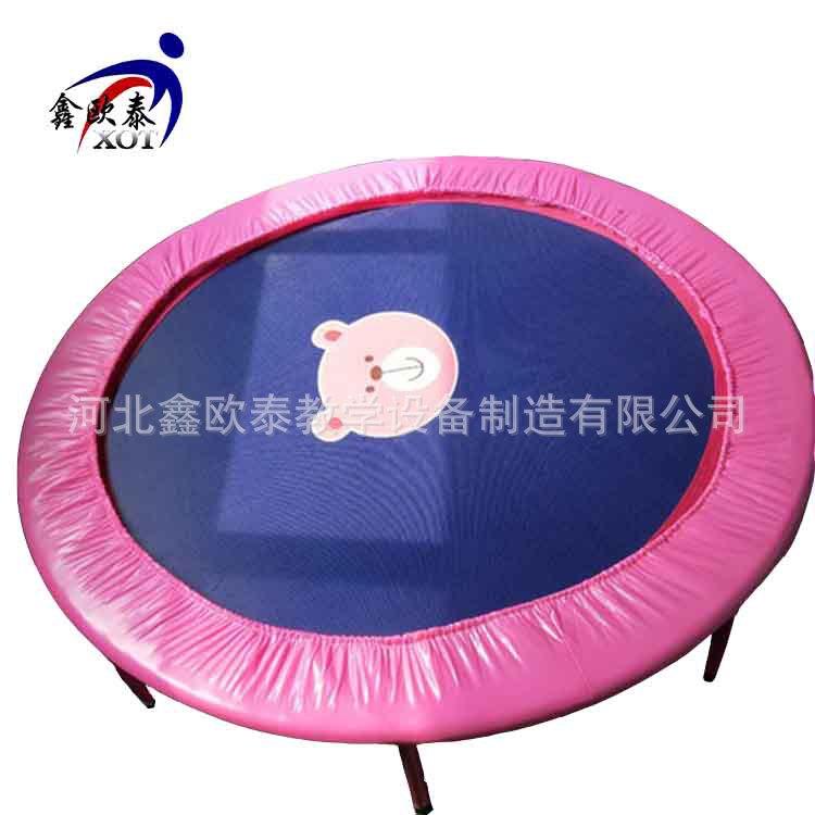儿童快乐体操用品 儿童玩具体适能小蹦床 家用弹簧跳跳床
