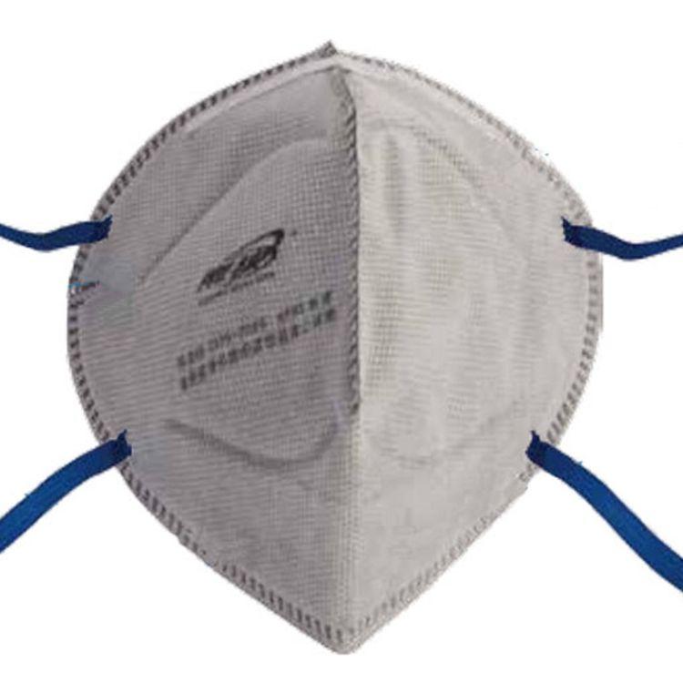 折叠式有机蒸汽异味及颗粒物防护防尘口罩 防雾霾防病毒劳保口罩