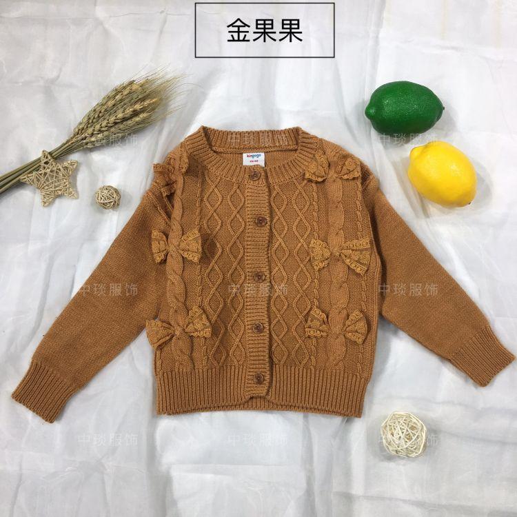 女童毛衣 初冬新款儿童毛衣 品牌童装毛衣