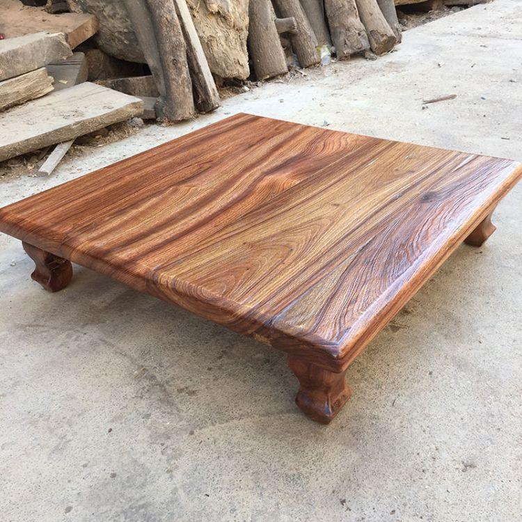 红心樟木炕几 厂家供应实木家用客厅炕几 现代中式仿古小茶几批发
