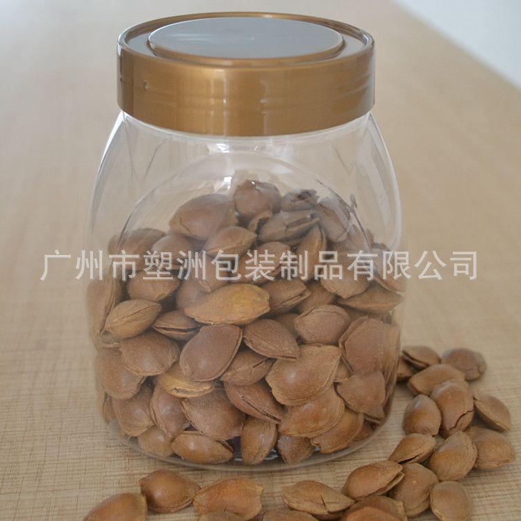 干果包装瓶批发厂家广州蜜饯塑料瓶厂家 500克干果蜜饯瓶塑洲制造