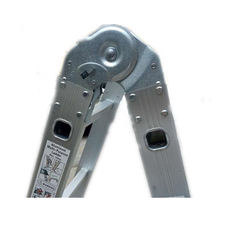 铝合金关节梯 便携式可折叠人字梯 双侧多功能五步家用梯子