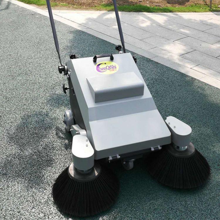 骑士手推式电动扫地机 工业工厂厂房车间车库 粉尘木屑吸尘扫地车