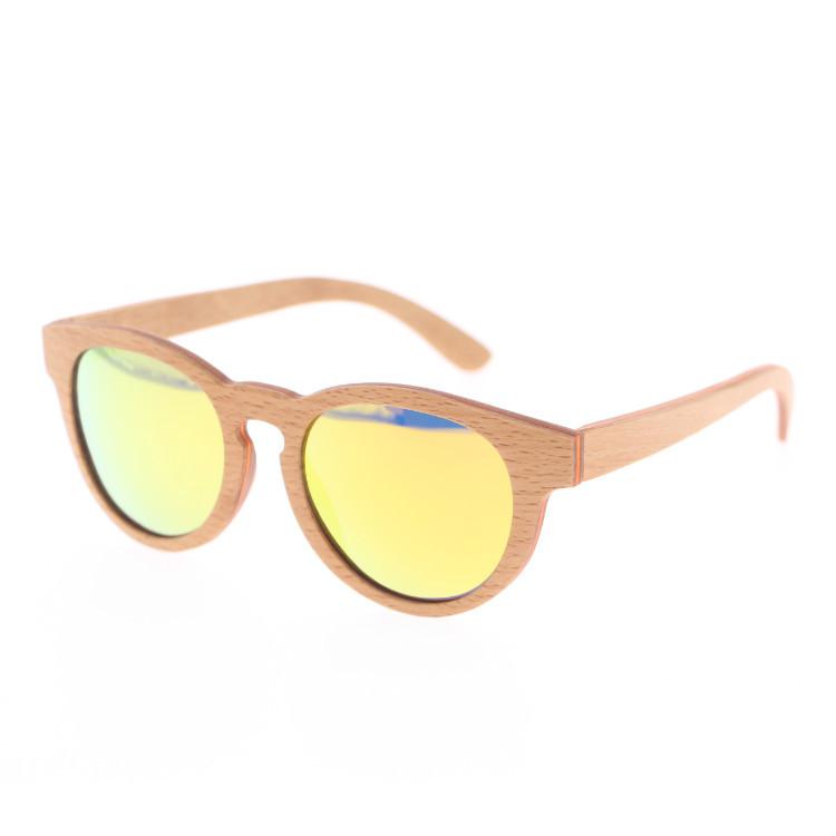 厂家直销 2018天然木质偏光太阳镜 外贸爆款 竹木眼镜