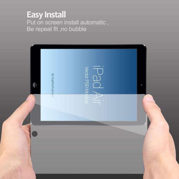 防摔防刮 手机膜iPadAir高清半屏钢化膜 贴膜