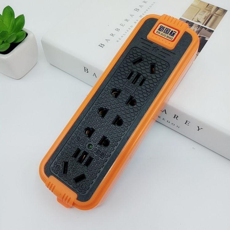 厂家直销 家用拖线板16孔大功率防爆接线板插排