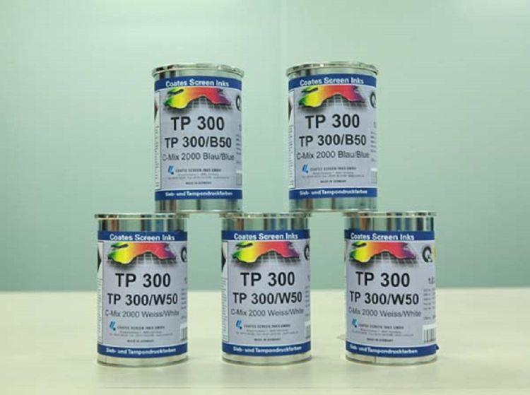 德国高氏CoatesTP300食品药品PDA级油墨塑胶喷漆电子产品面高耐磨移印油墨
