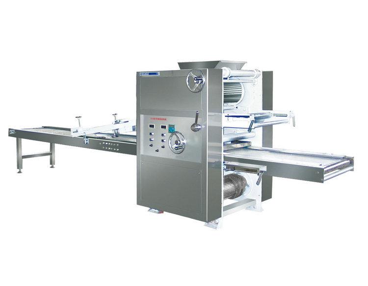 立式阳江自动桃酥机 多功能小型桃酥机生产线 食品烘焙桃酥机