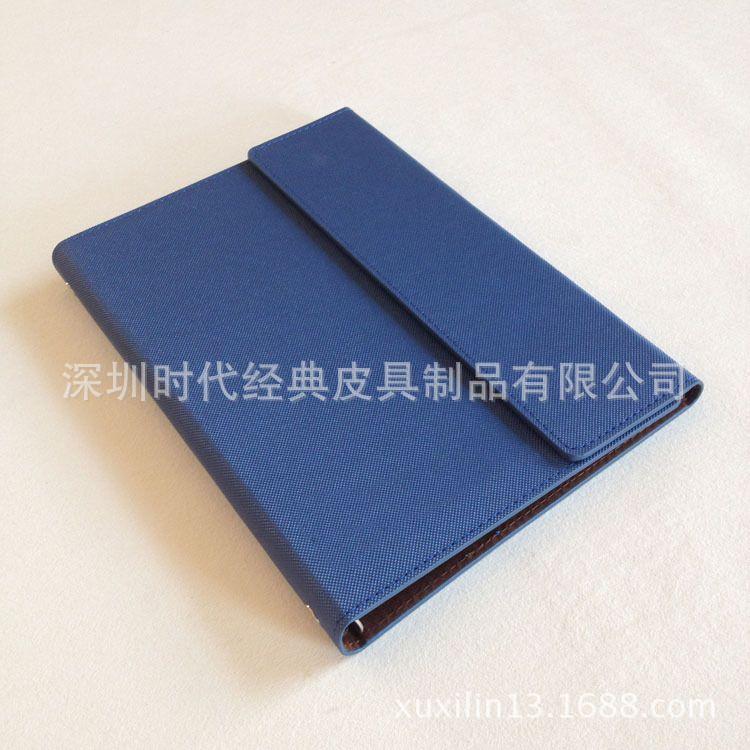 商务礼品笔记本定做 时尚三折六孔活页记事本订做厂家供应记事本