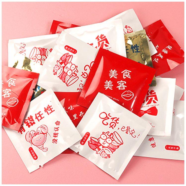 一次性手套独立小包装食品级餐饮专用加厚透明PE薄膜塑料手套