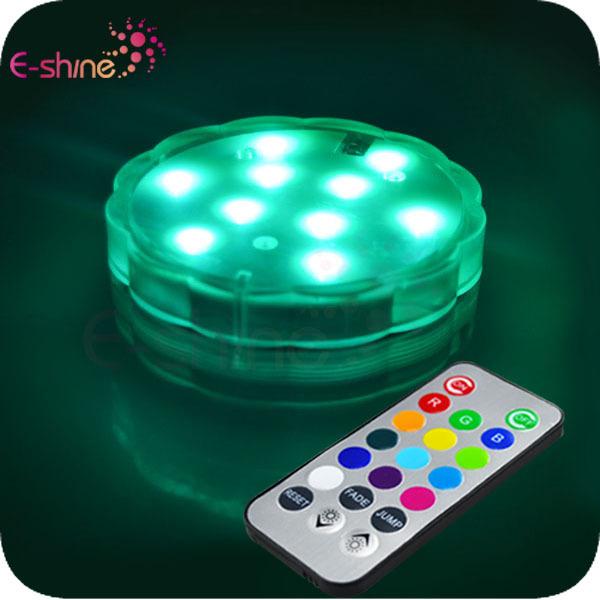 厂家直销 游泳池防水蜡烛灯,防水LED大潜水灯,10灯水底灯游池灯